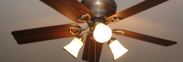 Вентилятор под потолок своими руками