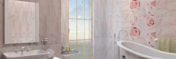 Интерьер ванной - кафельная плитка