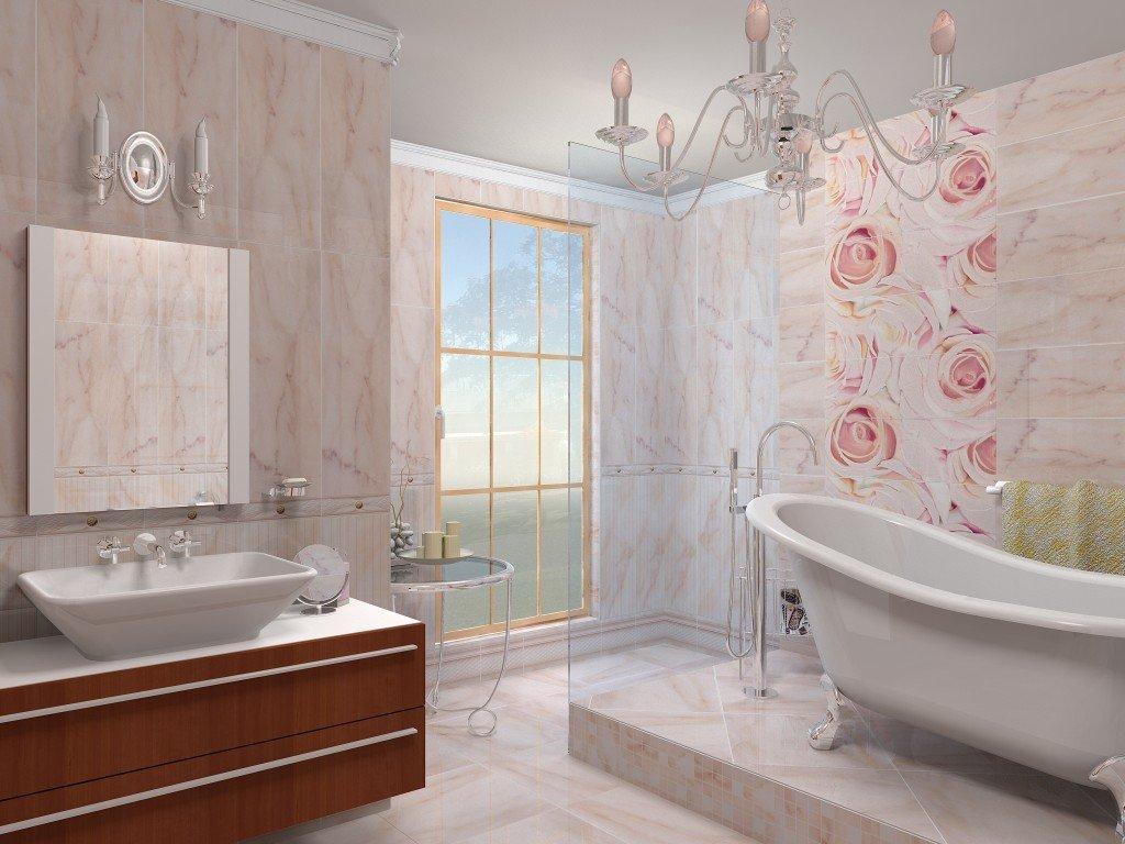 Отделываем ванную комнату