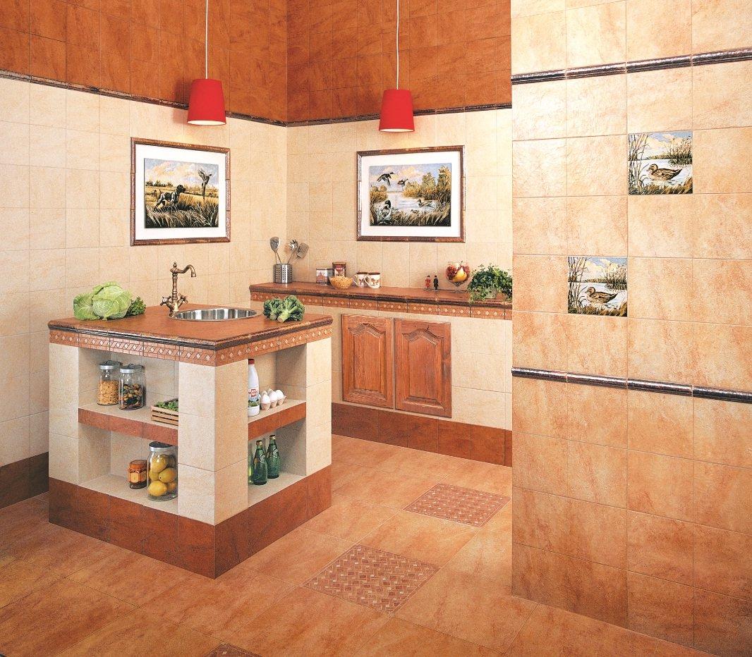 Выбор плитки для кухни: для любых условий и мест