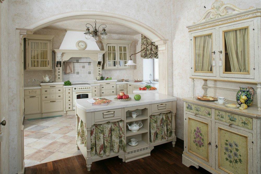 Кухня в итальянском стиле своими руками