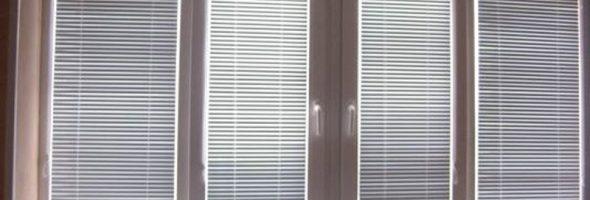 Жалюзи на пластиковых окнах
