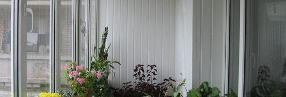 Балкон в пластике