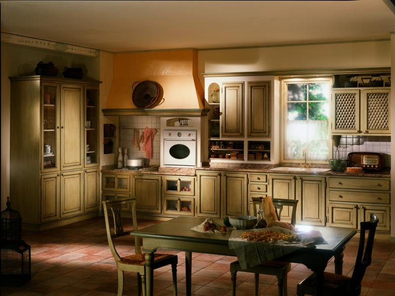 Утонченная кухня в стиле прованс