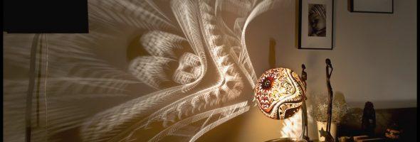 Оригинальный этнический светильник