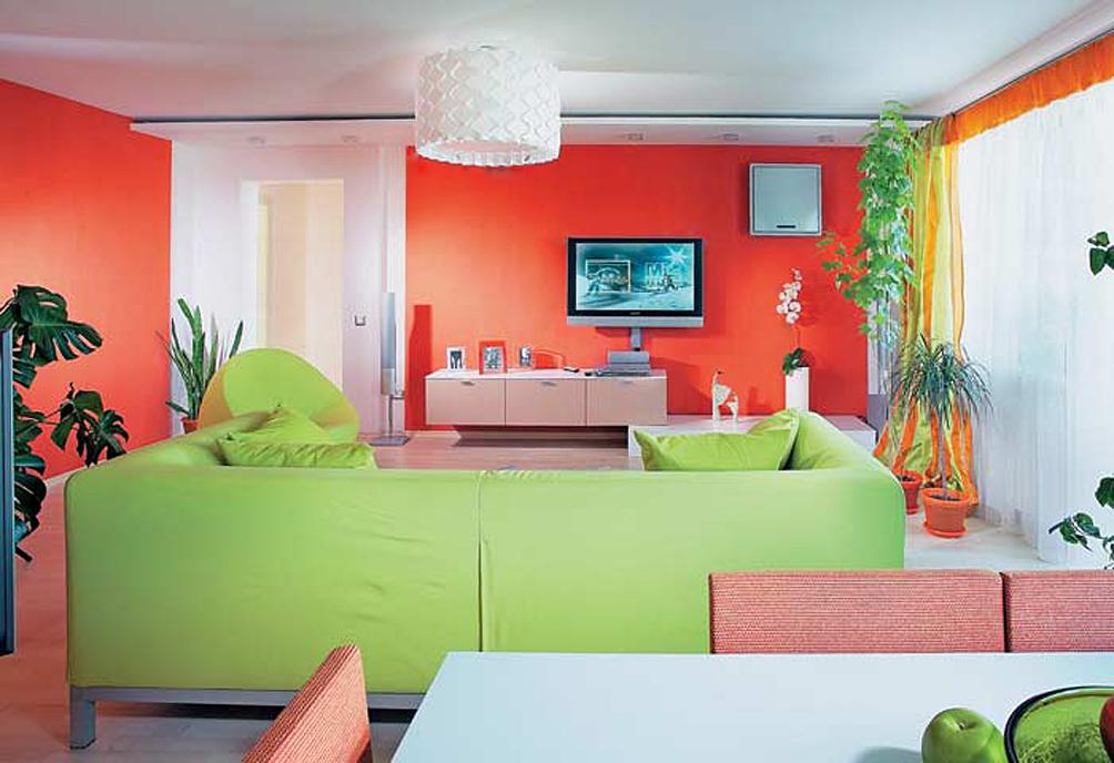цветовые решения квартир картинки