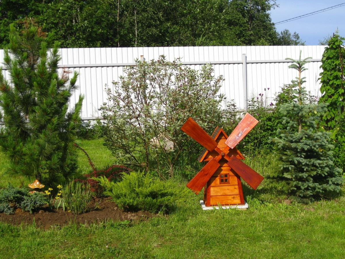 Мельница своими руками для сада пошаговая простой вариант