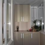 мини-кухня на балконе