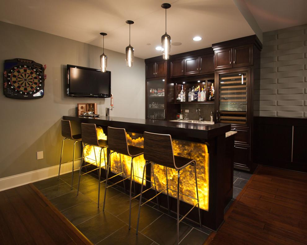 Оригинальные барные стойки для кухни