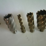 Корончатые свёрла по металлу