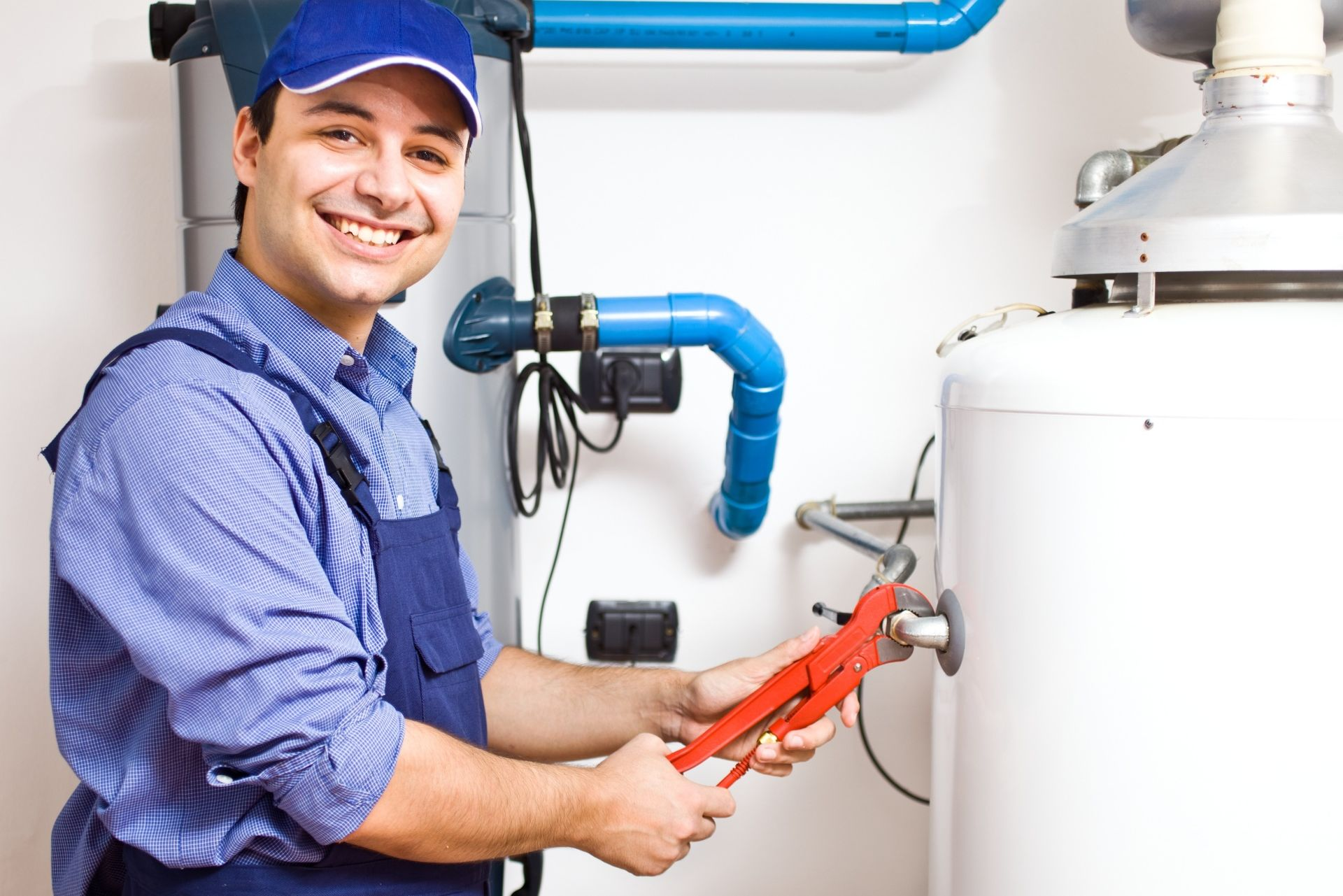Очистка системы отопления в загородном коттедже