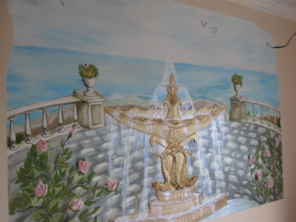 Отделка и роспись стен своими руками