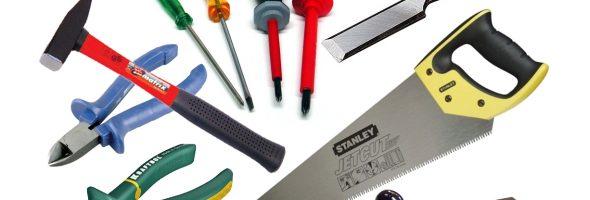 7 инструментов, необходимых домашнему мастеру