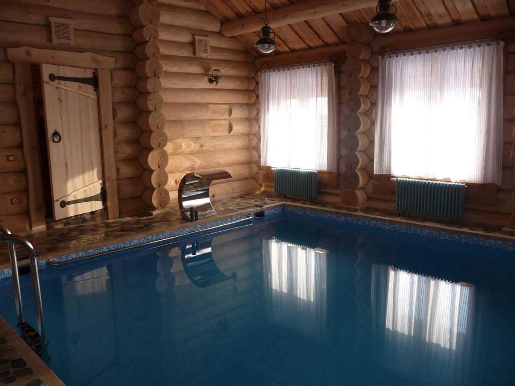 Строительство бани с бассейном своими руками