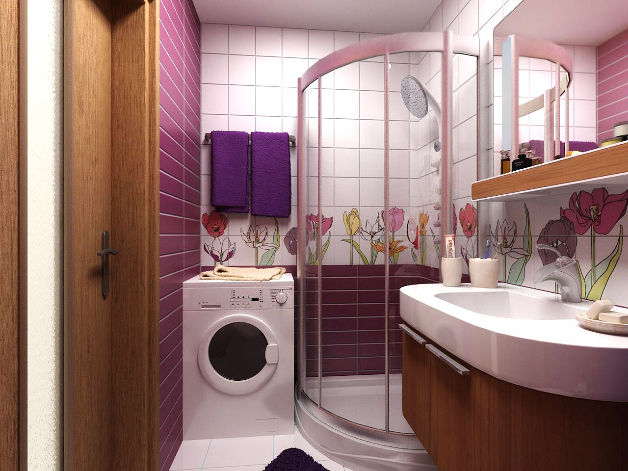 Ванная комната без протечек