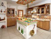 Русский традиционный стиль в оформлении кухни