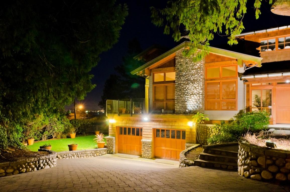 светодиодное освещение загородного дома