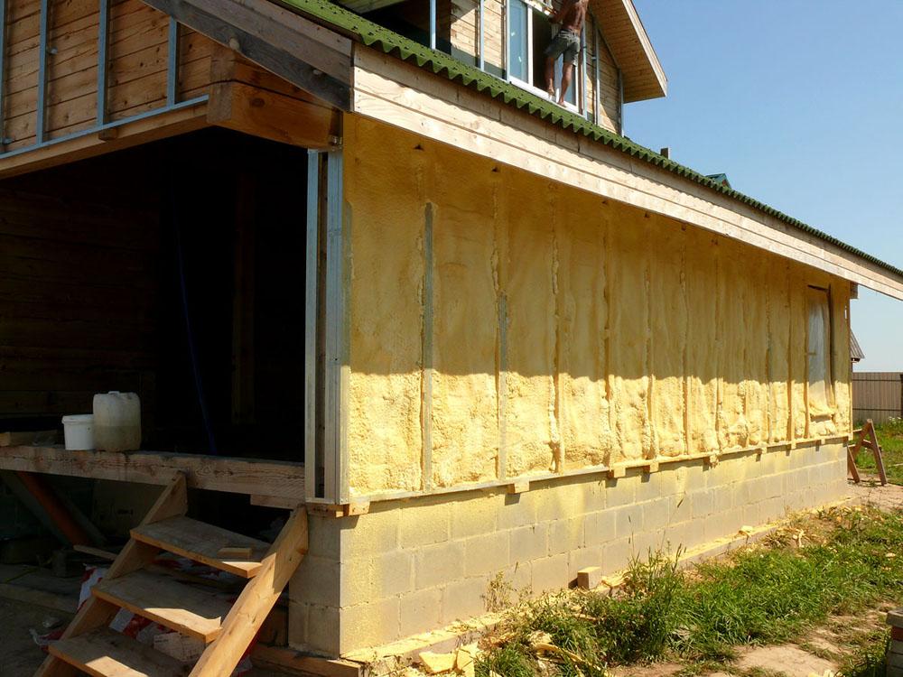 Как утеплить дом из деревянного бруса снаружи