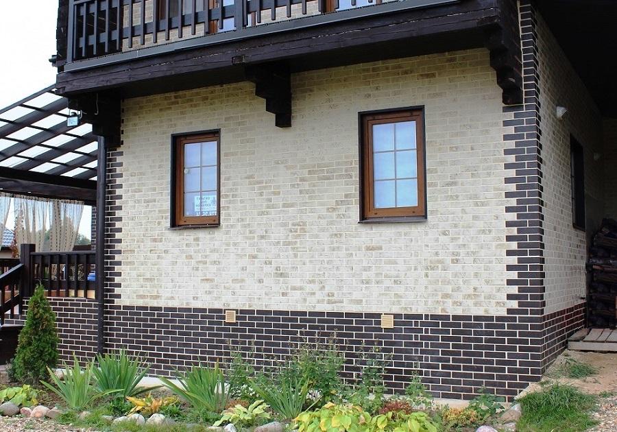 Фасадные клинкерные термопанели и их применение