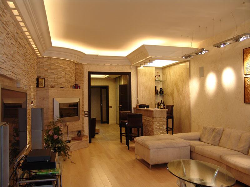 Современные виды отделки квартир