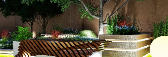 Мечты о сказке, или  Сад в средиземноморском стиле
