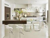 Современные стеклянные столы для кухни