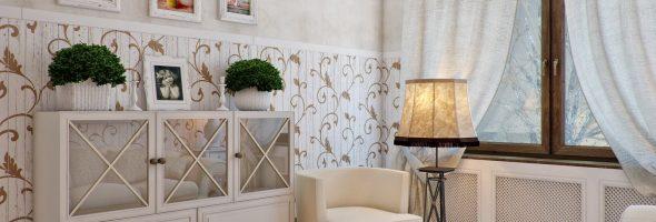 Мебель квартиры в стиле прованс