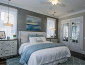 Спальня в морском стиле