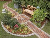 Площадка для пикника и садовые дорожки своими руками