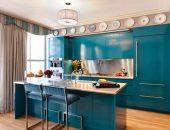 Морской стиль интерьера кухни: идеи и фото