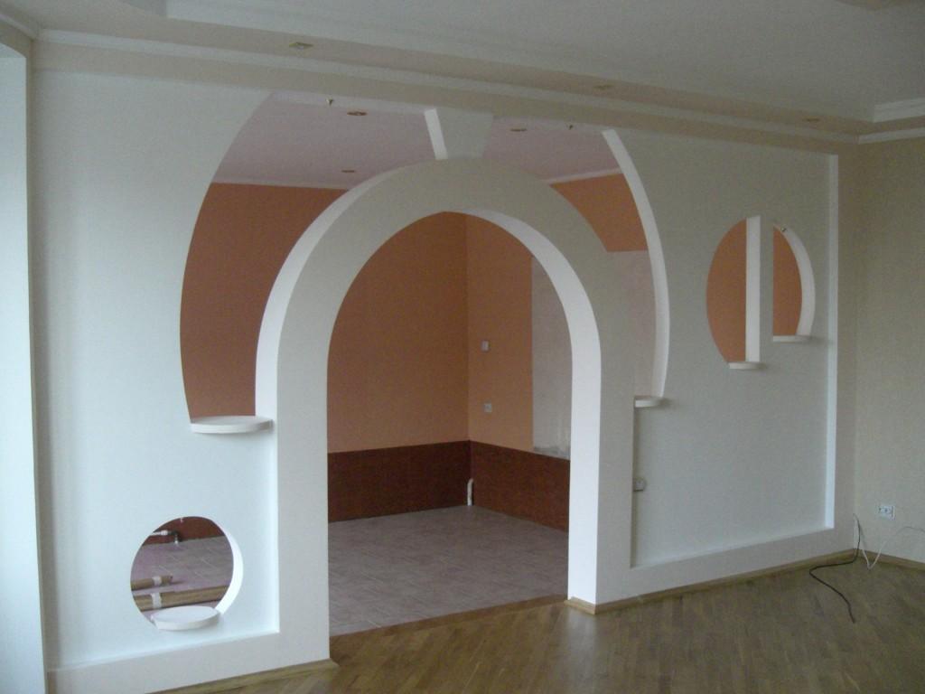 Ремонт стены из гипсокартона своими руками