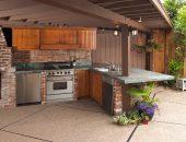 5 преимуществ кирпичных летних кухонь
