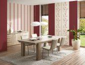 Смелое решение для обычной квартиры — комбинирование обоев в гостиной