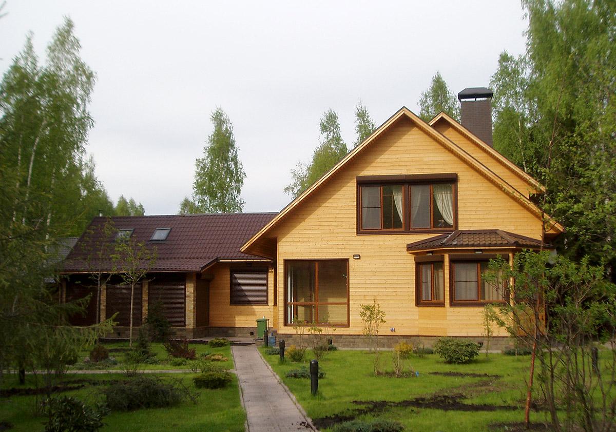 «Дом моей мечты» — проекты загородных коттеджей из бруса