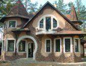 Наружная отделка зданий натуральным камнем