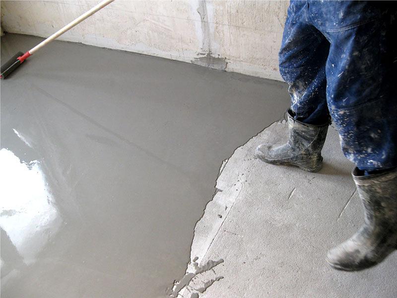 Цементный наливной пол какой лучше