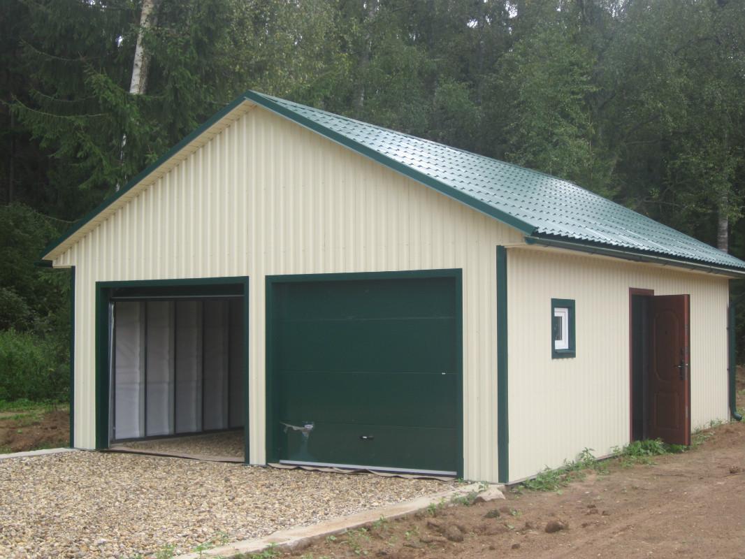 Готовый каркасный гараж гараж бибирево плещеева купить