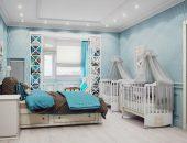 Дизайн-проект спальни с уголком для ребёнка