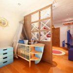 Морская комната для новорождённого