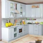 Оформление светлой кухни в скандинавском стиле