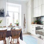 Кухня в традиционном скандинавском стиле