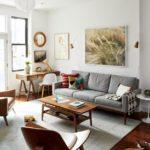 Скандинавский интерьер с обилием дерева в отделке квартиры