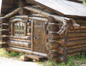 Деревянный дом на фундаменте