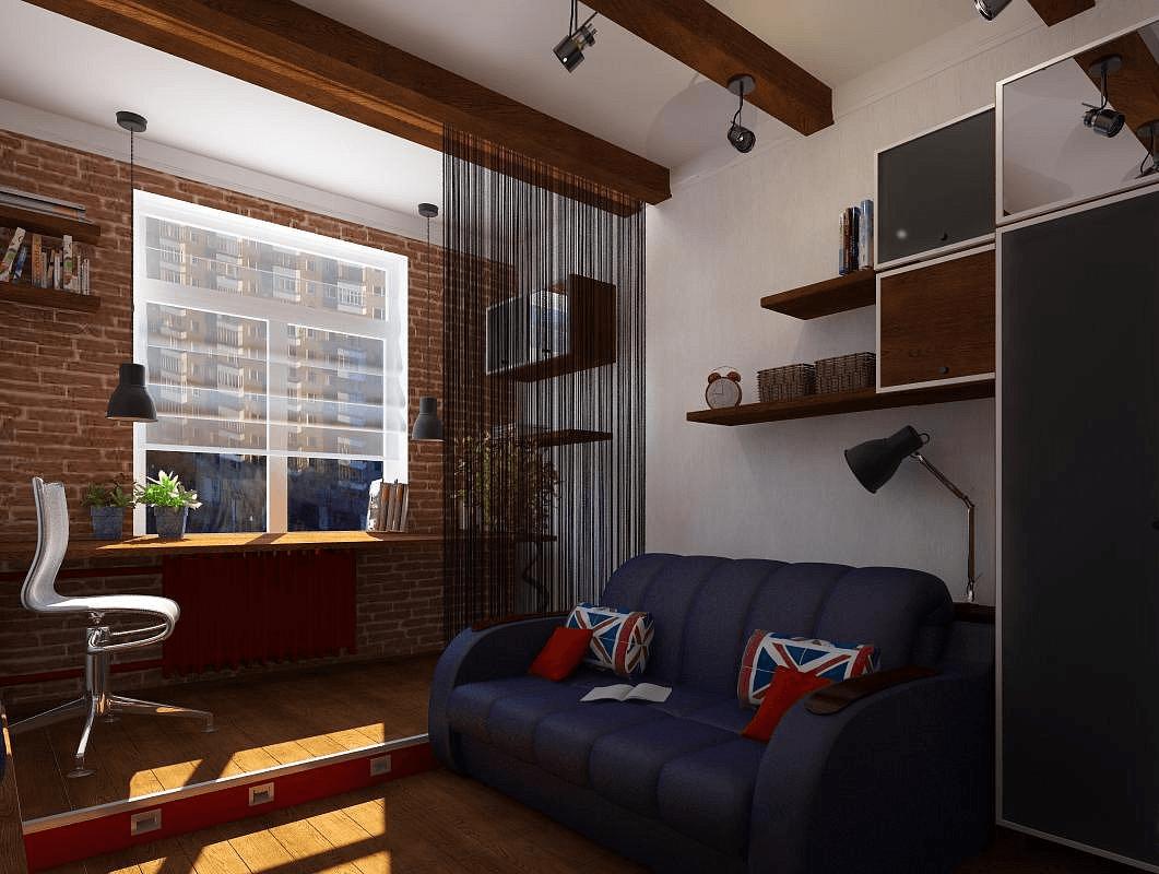 самых дизайн комнаты для молодого человека фото компания ООО