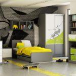 Подростковая комната с граффити