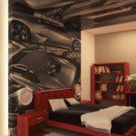 Комната с большой кроватью