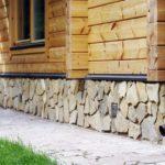 Фундамент из бутового камня