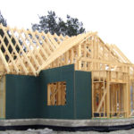 Каркасный дом на ленточном фундаменте из блоков