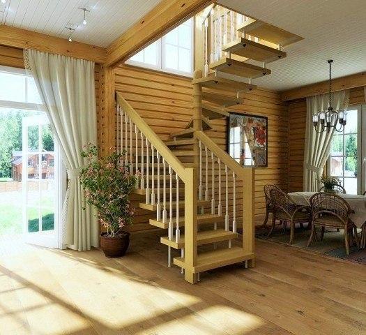 Особенности строительства лестниц в частных домах