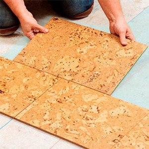 Детальная инструкция по укладке пробки, линолеума, ковролина